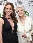 Melissa Errico and Angela Lansbury attend the 'Sondheim at Seven' 2017 Gala Benefit Production at Town Hall on June 13, 2017 in New York City.