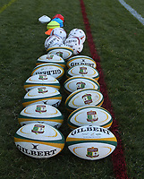 Balls ready for warm-up during the 2018 Castle Lager Incoming Series 2nd Test match between South Africa and England at the Toyota Stadium.Bloemfontein,South Africa. 16,06,2018 Photo by Steve Haag / stevehaagsports.com