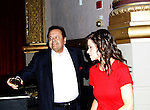 "The film ""Price for Freedom"" worldwide premiere starring Mandy Bruno (GL)also Paul Sorvino (honored here tonight with the Lifetime Achievement Award by Mandy)  shown on this night  - 10th Anniversary of the Hoboken International Film Festival on May 29, 2015 at the Paramount Theatre, Middletown, NY - runs through June 4. (Photos by Sue Coflin/Max Photos)"
