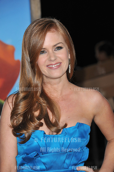 "Isla Fisher at the Los Angeles premiere of her new animated movie ""Rango"" at the Regency Village Theatre, Westwood..February 14, 2011  Los Angeles, CA.Picture: Paul Smith / Featureflash"