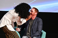 "LOS ANGELES - APRIL 24: Penny Johnson and Scott Grimes attend a red carpet FYC event and panel for FOX's ""The Orville"" at the Pickford Center for Motion Picture Study Linwood Dunn Theater on April 24, 2019 in Los Angeles, California. (Photo by Vince Bucci/Fox/PictureGroup)"