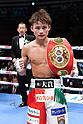 Boxing: IBF minimumweight title bout at Ota-City General Gymnasium in Tokyo