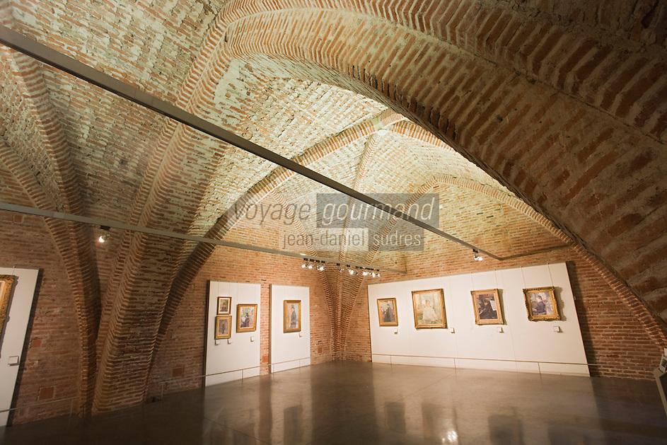 Europe/France/Midi-Pyrénées/81/Tarn/ Albi: Musée Toulouse -Lautrec dans le Palais de La Berbie