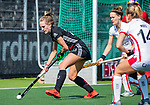 AMSTELVEEN -Lauren Stam (A'dam)   tijdens de hoofdklasse competitiewedstrijd hockey dames,  Amsterdam-Oranje Rood (5-2). COPYRIGHT KOEN SUYK