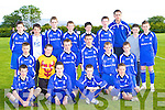 The  Killarney Athletic  U13 team which were defeated by Killarney Celtic in the final in Mastergeeha