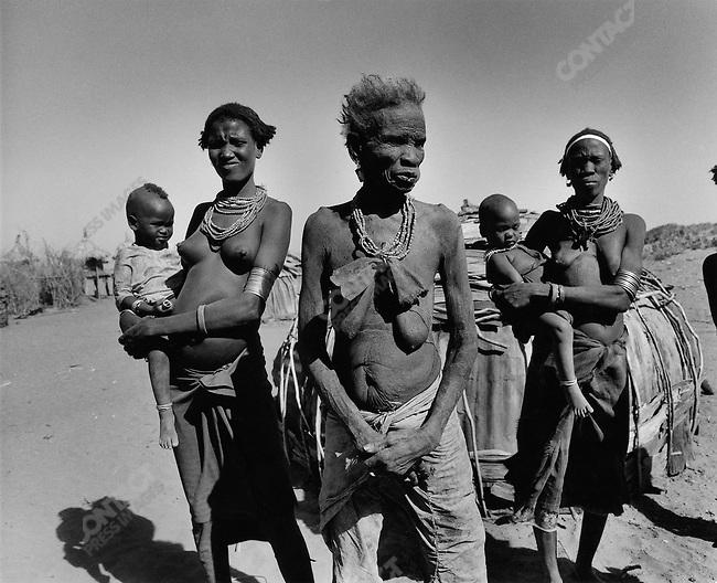 Gheleb tribe, Omo Valley, southern Ethiopia, 2003-2004