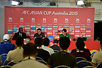 Press Conference - AFC Asian Cup 2015