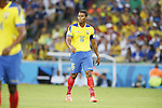 Antonio Valencia (ECU), JUNE 26, 2014 - Football / Soccer : FIFA World Cup Brazil<br /> match between Ecuador and France at the Maracana stadium in Rio de Janeiro, Brazil. (Photo by AFLO) [3604]