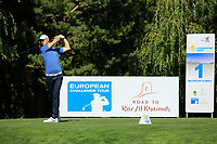 Tom Murray (ENG) during the final round of the Kazakhstan Open presented by ERG played at Zhailjau Golf Resort, Almaty, Kazakhstan. 16/09/2018<br /> Picture: Golffile | Phil Inglis<br /> <br /> All photo usage must carry mandatory copyright credit (© Golffile | Phil Inglis)