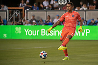 SAN JOSE, CA - AUGUST 24: Daniel Vega #17 of the San Jose Earthquakes during a game between Vancouver Whitecaps FC and San Jose Earthquakes at Avaya Stadium on August 24, 2019 in San Jose, California.
