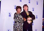 Ella Fitzgerald and Paul McCartney 1990 Grammy Awards.© Chris Walter.