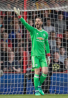 Goalkeeper David De Gea of Man Utd during the Premier League match between Bournemouth and Manchester United at the Goldsands Stadium, Bournemouth, England on 18 April 2018. Photo by Andy Rowland.
