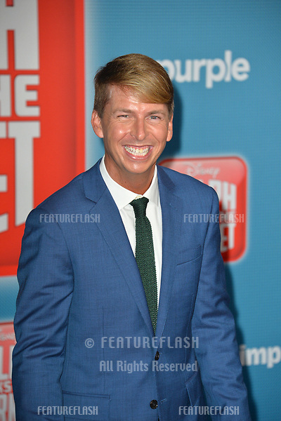 LOS ANGELES, CA. November 05, 2018: Jack McBrayer at the world premiere of &quot;Ralph Breaks The Internet&quot; at the El Capitan Theatre.<br /> Picture: Paul Smith/Featureflash