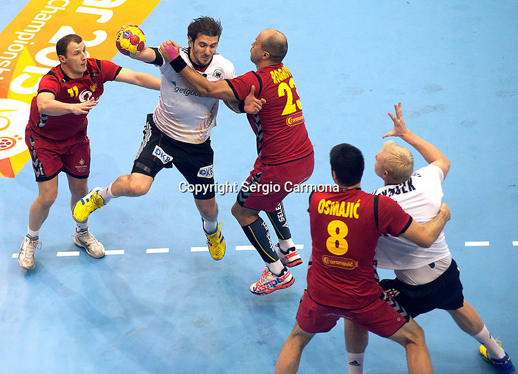 23rd IHF Men's World Championship; GER-MNE