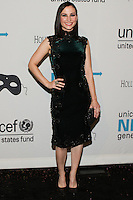 HOLLYWOOD, LOS ANGELES, CA, USA - OCTOBER 30: Heather McComb arrives at UNICEF's Next Generation's 2nd Annual UNICEF Masquerade Ball held at the Masonic Lodge at the Hollywood Forever Cemetery on October 30, 2014 in Hollywood, Los Angeles, California, United States. (Photo by Rudy Torres/Celebrity Monitor)