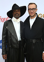 "05 January 2019 - West Hollywood California - Billy Porter and Adam Smith. 6th Annual ""Gold Meets Golden"" Party Hosted by Nicole Kidman and Nadia Comaneci held at the House on Sunset. Photo Credit: Faye Sadou/AdMedia"