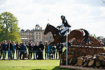 Badminton, Gloucestershire, United Kingdom, 4th May 2019, Ellen Cameron riding Hanleen Crown Jewels during the Cross Country Phase of the 2019 Mitsubishi Motors Badminton Horse Trials, Credit:Jonathan Clarke/JPC Images
