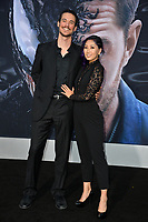 LOS ANGELES, CA. October 01, 2018: Mari Takahashi &amp; Peter Kitch at the world premiere for &quot;Venom&quot; at the Regency Village Theatre.<br /> Picture: Paul Smith/Featureflash