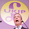UKIP 2015 Spring Conference at the Winter Gardens Margate, Great Britain <br /> 28th February 2015 <br /> <br /> Nigel Farage MEP<br /> Leader of UKIP<br /> <br /> <br /> Photograph by Elliott Franks <br /> Image licensed to Elliott Franks Photography Services