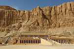External view of Temple of Hatshepsut in Luxor west Bank