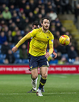 Danny Hylton of Oxford United in action during the Sky Bet League 2 match between Oxford United and Northampton Town at the Kassam Stadium, Oxford, England on 16 February 2016. Photo by Andy Rowland.