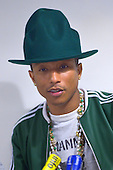 Feb 24, 2014: PHARRELL WILLIAMS - Press Conference in Paris France
