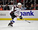 RYAN WILSON,  of the Colorado Avalanche in action  during the Avalanche game against the Chicago Blackhawks at the United Center in Chicago, IL.  The Colorado Avalanche beat the Chicago Blackhawks 4-3 in Chicago, Illinois on December 15, 2010....