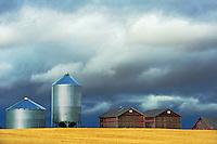 Grain bins <br /> Morse<br /> Saskatchewan<br /> Canada