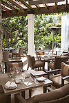 Restaurant at the Sunset Marquis Hotel, West Hollywood, CA