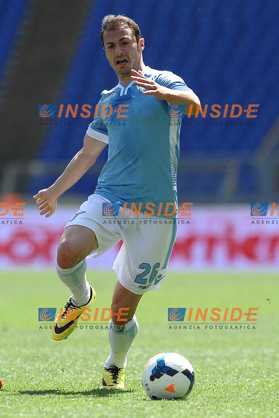 Stefan Radu Lazio.<br /> Roma 06-04-2014 Stadio Olimpico. Football Calcio 2013/2014 Serie A. Lazio - Sampdoria. Foto Antonietta Baldassarre / Insidefoto