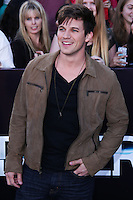 "WESTWOOD, LOS ANGELES, CA, USA - MARCH 18: Matt Lanter at the World Premiere Of Summit Entertainment's ""Divergent"" held at the Regency Bruin Theatre on March 18, 2014 in Westwood, Los Angeles, California, United States. (Photo by David Acosta/Celebrity Monitor)"