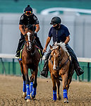 September 1, 2020: Authentic exercises as horses prepare for the 2020 Kentucky Derby and Kentucky Oaks at Churchill Downs in Louisville, Kentucky. The race is being run without fans due to the coronavirus pandemic that has gripped the world and nation for much of the year. Scott Serio/Eclipse Sportswire/CSM