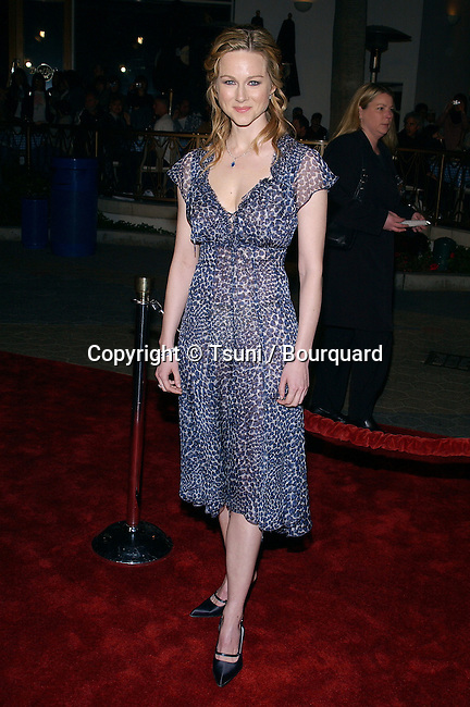 "Laura Linney arriving at the Premiere of ""The Life Of David Gale"" at the Universal Cineplex Theatre in Los Angeles. February 18, 2003"