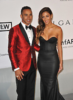 Nicole Scherzinger &amp; Lewis Hamilton  at the 21st annual amfAR Cinema Against AIDS Gala at the Hotel du Cap d'Antibes.<br /> May 22, 2014  Antibes, France<br /> Picture: Paul Smith / Featureflash