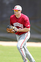 Indiana Hoosiers Josh Lyon #21 during a game vs UMass at Lake Myrtle Main Field in Auburndale, Florida;  March 16, 2011.  Indiana defeated UMass 11-10.  Photo By Mike Janes/Four Seam Images