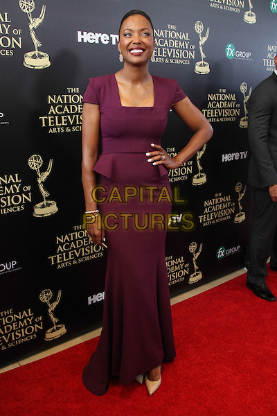 BEVERLY HILLS, CA - JUNE 22: Aisha Tyler attending The 41st Annual Daytime Emmy Awards held at The Beverly Hilton Hotel in Beverly Hills, California on June 22nd, 2014. <br /> CAP/MPI/RTNUPA<br /> &copy;RTNUPA/MPI/Capital Pictures