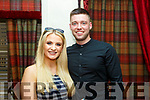 BIRTHDAY GIRL: Heather O'Rourke was out celebrating the occasion of her birthday in Cassidys restaurant, Tralee on Friday night, pictured here with Craig Locke.