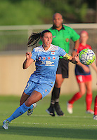 Boyds, MD - Saturday July 09, 2016: Vanessa DiBernardo during a regular season National Women's Soccer League (NWSL) match between the Washington Spirit and the Chicago Red Stars at Maureen Hendricks Field, Maryland SoccerPlex.