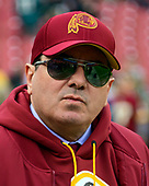 Washington Redskins owner Daniel M. Snyder on the field prior to the game against the Philadelphia Eagles at FedEx Field in Landover, Maryland on December 30, 2018.<br /> Credit: Ron Sachs / CNP