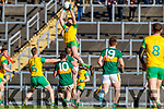 Jason Foley Kerry in action against Odhran MacNiallais Donegal in the Allianz Football League Division 1 Round 1 match between Kerry and Donegal at Fitzgerald Stadium in Killarney, Co. Kerry.