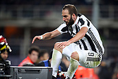 9th February 2018, Stadio Artemio Franchi, Florence, Italy; Serie A football, ACF Fiorentina versus Juventus; Gonzalo Higuain of Juventus celebrates after scoring in the 41st minute
