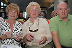 Carmel Clarke, Maeve Cunningham and John Monahan at the Cooking For One demonstation for Positive Aging Week in the dHotel...Picture Jenny Matthews/Newsfile.ie