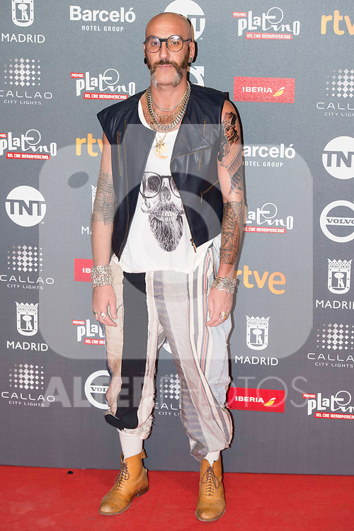 Roberto Etxebarria attends to welcome party photocall of Platino Awards 2017 at Callao Cinemas in Madrid, July 20, 2017. Spain.<br /> (ALTERPHOTOS/BorjaB.Hojas)