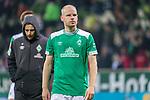 01.12.2018, Weser Stadion, Bremen, GER, 1.FBL, Werder Bremen vs FC Bayern Muenchen, <br /> <br /> DFL REGULATIONS PROHIBIT ANY USE OF PHOTOGRAPHS AS IMAGE SEQUENCES AND/OR QUASI-VIDEO.<br /> <br />  im Bild<br /> <br /> entt&auml;uscht / enttaeuscht / traurig / Niederlage<br /> Davy Klaassen (Werder Bremen #30)<br /> <br /> Foto &copy; nordphoto / Kokenge