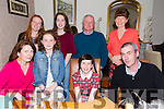 Kelly Mahony from Tralee celebrating her confirmation with family on Friday night in Bella Bia's .Front l-r Michelle Quirke,April Mahony,Kelly Mahony (Confirmation girl) and Tim Mahony.Back l-r Ashling Kelter,Casey Mahony,James Kelter and Mary kelter