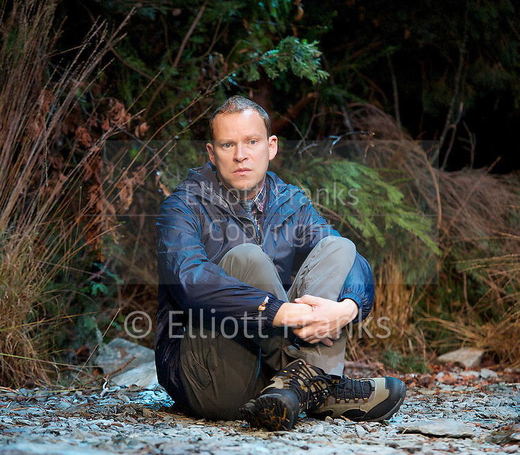 Neville's Island <br /> by Tim Firth <br /> at Duke of York's Theatre, London, Great Britain <br /> 17th October 2014 <br /> press photocall<br /> <br /> <br /> <br /> <br /> Robert Webb as Roy <br /> <br /> <br /> <br /> <br /> <br /> <br /> Photograph by Elliott Franks <br /> Image licensed to Elliott Franks Photography Services