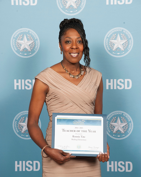 On the Red Carpet during the 2015 Team HISD Celebration of Excellence, May 15, 2015.