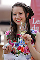"May 21, 2016, Tokyo, Japan - Japanese Swiss actress Haruka Christine smiles as she plays petanque, French ball game in Tokyo on Saturday, May 21, 2016 as a  part of ""Aperitif 365"" event. Thousands of visitors are expecting to enjoy aperitifs and hors d'oeuvres at the three-day event for the promotion of French foods and drinks.  (Photo by Yoshio Tsunoda/AFLO) LWX -ytd"
