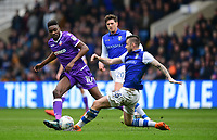 Bolton Wanderers' Sammy Ameobi vies for possession with Sheffield Wednesday's Daniel Pudil<br /> <br /> Photographer Chris Vaughan/CameraSport<br /> <br /> The EFL Sky Bet League Two - Mansfield Town v Lincoln City - Tuesday 6th March 2018 - Field Mill - Mansfield<br /> <br /> World Copyright &copy; 2018 CameraSport. All rights reserved. 43 Linden Ave. Countesthorpe. Leicester. England. LE8 5PG - Tel: +44 (0) 116 277 4147 - admin@camerasport.com - www.camerasport.com