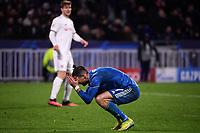 Cristiano Ronaldo of Juventus dejection <br /> Lyon 26/02/2020 OL Stadium Decines <br /> Football Champions League 2019//2020 <br /> Round of 16 1st Leg <br /> Olympique Lionnais Lyon - Juventus <br /> Photo Federico Tardito / Insidefoto